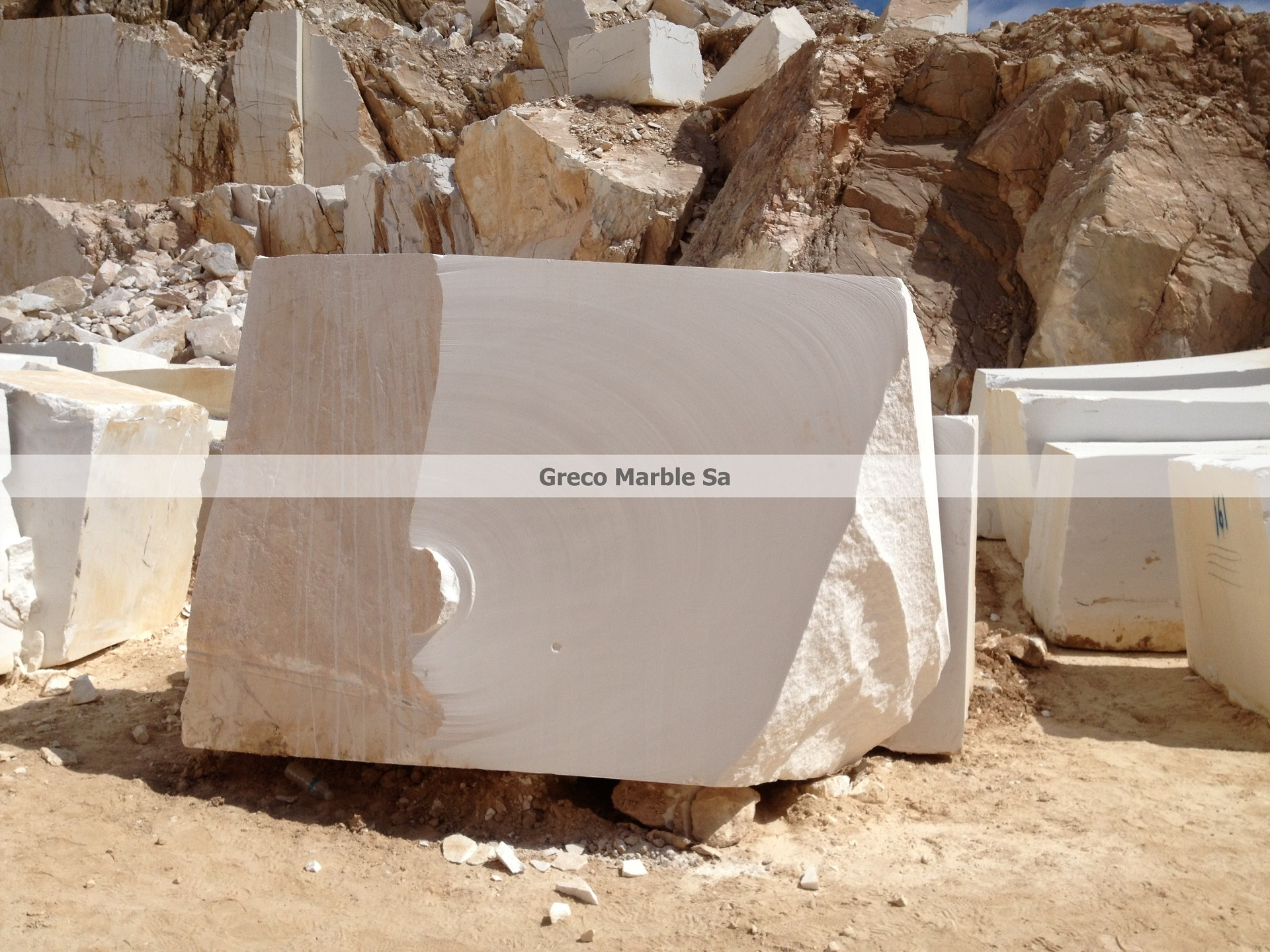 White Marble Block : Thassos marble white blocks